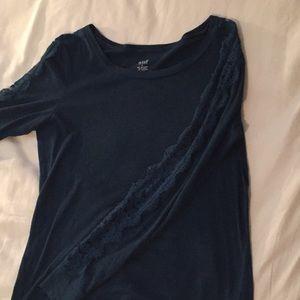 a.n.a shirt dark sea green